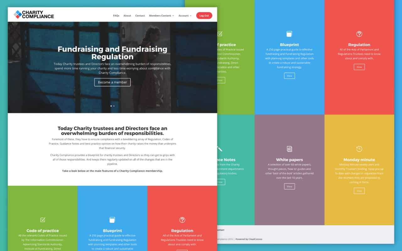 Charity Compliance Divi Site