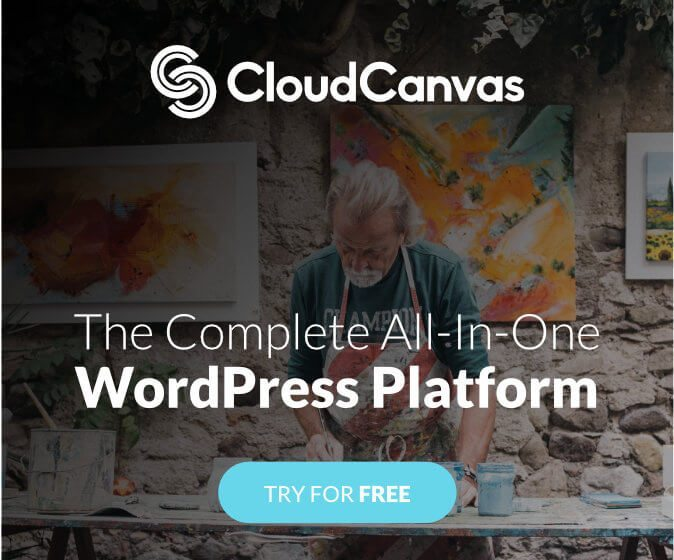 Try CloudCanvas a Premium WordPress Hosting Platform